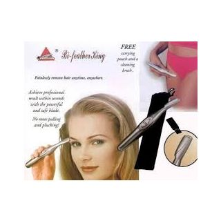 Electronic eye brow trimmer