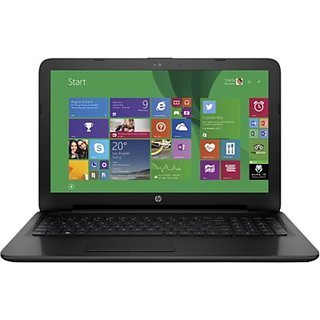 HP 15-ac054TU (NotebooK) (Celeron Dual Core/ 2GB/ 500GB/ Win8.1) (M9V72PA) (15.6 inch, Jack Black Color With Textured Diamond Pattern)