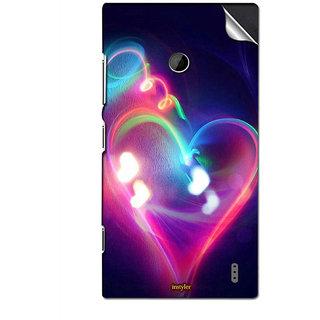 INSTYLER Mobile Sticker For Nokia Lumia 525 sticker598