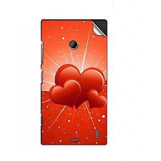 INSTYLER Mobile Sticker For Nokia Lumia 520 sticker437