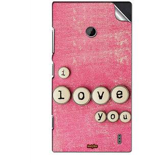 INSTYLER Mobile Sticker For Nokia Lumia 520 sticker446
