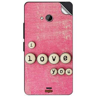 INSTYLER Mobile Sticker For Nokia Lumia 540 sticker1246