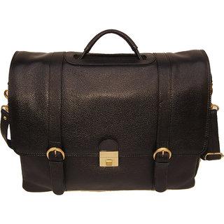 100 GENUINE Soft Fine Milled Leather new Office Messenger Bag Laptop Bag BL8