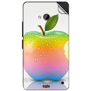 INSTYLER Mobile Sticker For Nokia Lumia 550 sticker1283