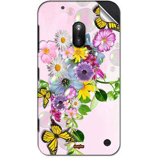 INSTYLER Mobile Sticker For Nokia Lumia 620 sticker1486