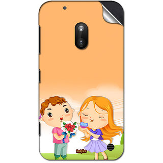 INSTYLER Mobile Sticker For Nokia Lumia 620 sticker1495
