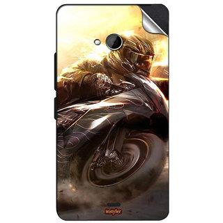 INSTYLER Mobile Sticker For Nokia Lumia 540 sticker1156