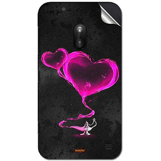 INSTYLER Mobile Sticker For Nokia Lumia 620 sticker1549