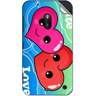 INSTYLER Mobile Sticker For Nokia Lumia 620 sticker1565