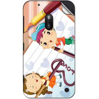 INSTYLER Mobile Sticker For Nokia Lumia 620 sticker1569