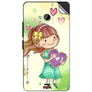 INSTYLER Mobile Sticker For Nokia Lumia 540 sticker1181
