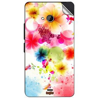 INSTYLER Mobile Sticker For Nokia Lumia 540 sticker1196