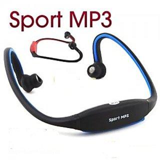 Sport Wireless Headset Headphone Earphone Music MP3 Player Micro