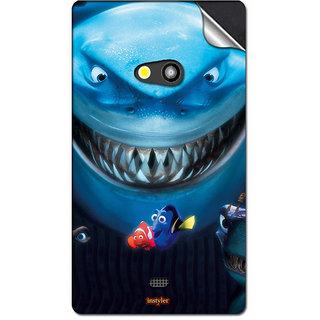 INSTYLER Mobile Sticker For Nokia Lumia 625 H sticker1654