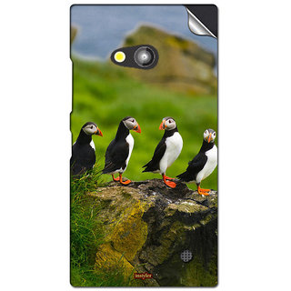 INSTYLER Mobile Sticker For Nokia Lumia 730 sticker2586