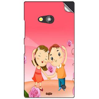 INSTYLER Mobile Sticker For Nokia Lumia 730 sticker2616