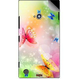 INSTYLER Mobile Sticker For Nokia Lumia 720 sticker2442