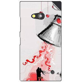 INSTYLER Mobile Sticker For Nokia Lumia 730 sticker2675