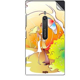 INSTYLER Mobile Sticker For Nokia Lumia 800 sticker2780