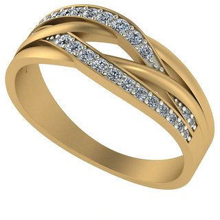 Diamond Ladies Ring in 18ct. Gold.