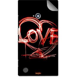 INSTYLER Mobile Sticker For Nokia Lumia 720 sticker2521