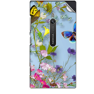 INSTYLER Mobile Sticker For Nokia Lumia 800 sticker2761