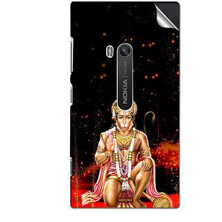 INSTYLER Mobile Sticker For Nokia Lumia 900 sticker3293