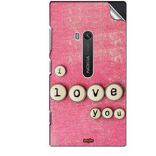 INSTYLER Mobile Sticker For Nokia Lumia 920 sticker3486