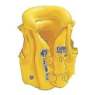 Intex Pool School Deluxe Swim Vest Jacket