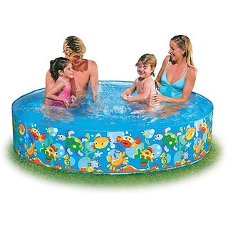 Intex Swimming Pool Water Pool 6 Feet For Kids Fun