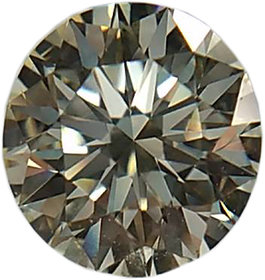 Round 0.32 Ct of VS1 clarity and M color Natural Loose Diamond With IGI Certificate
