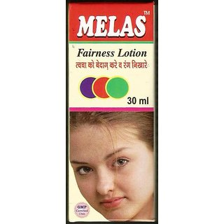 Melas Fairness Lotion set of 4 pcs.