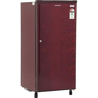 Kelvinator 190 L Direct Cool Single Door Refrigerator (KW203EFYR/G, Geometry Red)