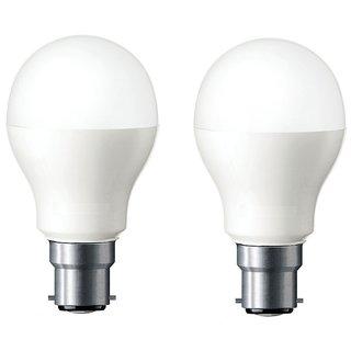 LED BULB 12W BRIGHT WHITE LIGHT LED BULB SAVING ENERGY 1 Set Of 2 Pcs.