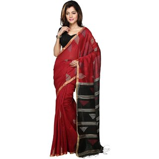 waseem silk palace Handloom Womens Silk Cotton Handwork Saree