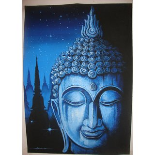 Hand Made Buddha Painting