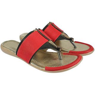 Maayas Women KBSS 23 Red Sandal