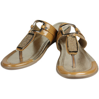 Maayas Women KBSS 14 Tan Sandal