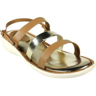 Maayas Women KBSS 24 Beige Sandal