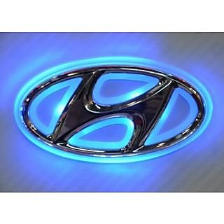 Buy Hyundai Emblem Logo Car Light Roundel Badge Online Get 35 Off
