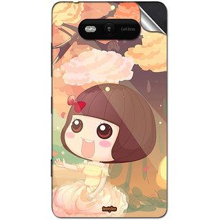INSTYLER Mobile Sticker For Nokia Lumia 820 sticker2938