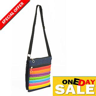 iLiv Jeans Sling Bag: Buy iLiv Jeans Sling Bag Online at best ...