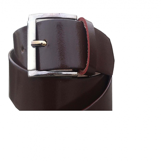 Brown Pure Leather Belt for Men