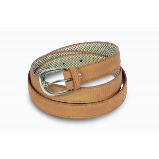 Women light brown belt
