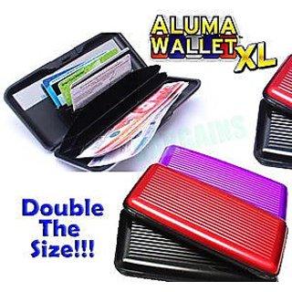 New Big Size Aluma Wallet Purse Money Holder for Men  WomenP2CW18