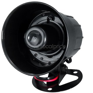 GoodsBazaar Two in One Siren Car Horn 125 dB for Maruti Alto