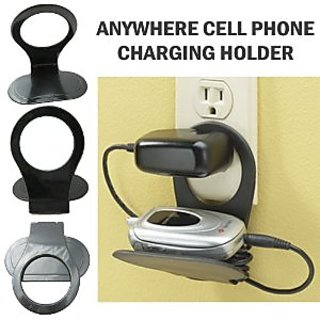 (Pack Of Two) Stand for Mobile, MP3 And Other Wall Chargers