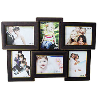 Dazzling World Photo Frame Collage (5X7) 6 in one