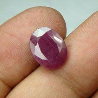 4.167 Cts Certified Natural Ruby Gemstone,manek,rashi Ratna For Surya