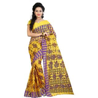 Fashionoma Self Design, Checkered Fashion Cotton Sari